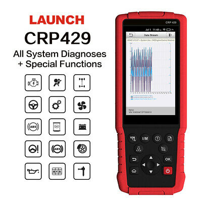Auto Diagnostic tool: Launch CRP429