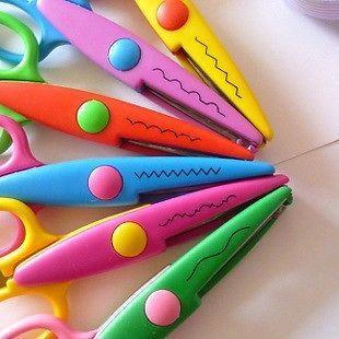 1set/6pcs Different Diy Craft Scissors Creative Scissors