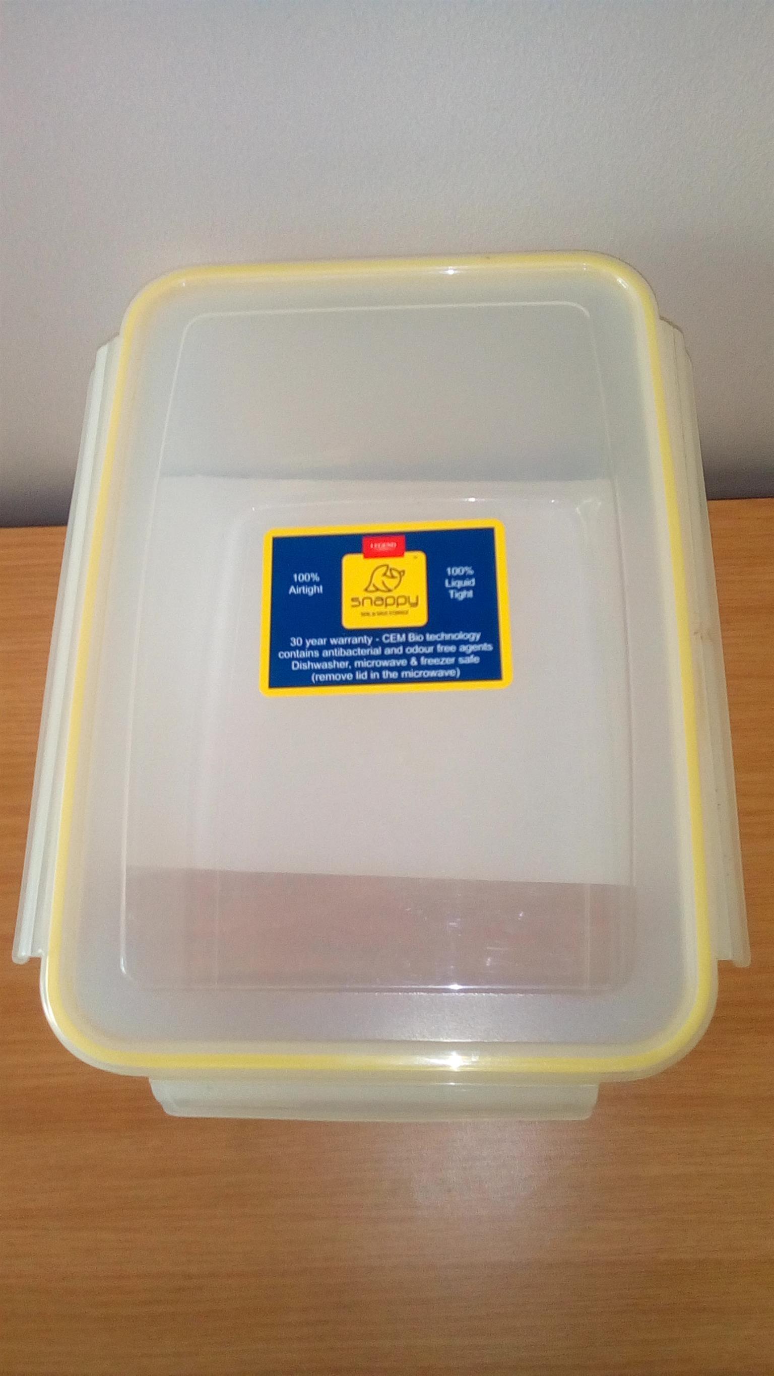 Legend Kitchen 8.3 Litre Airtight Container x 4