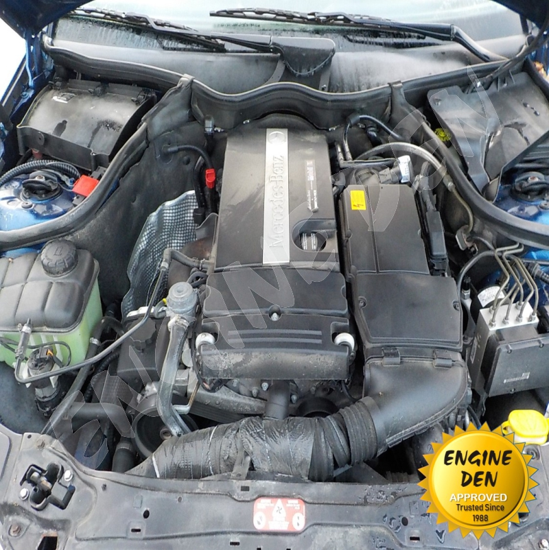 MERCEDES C180/C200 RED W203 ENGINE USED