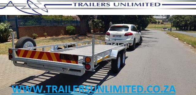 5500 X 2000 X 200 CAR TRAILER FOR SALE