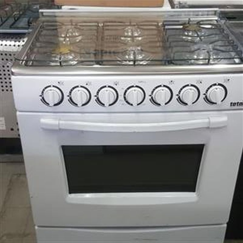 GAS STOVE 6 PLATE WITH OVEN