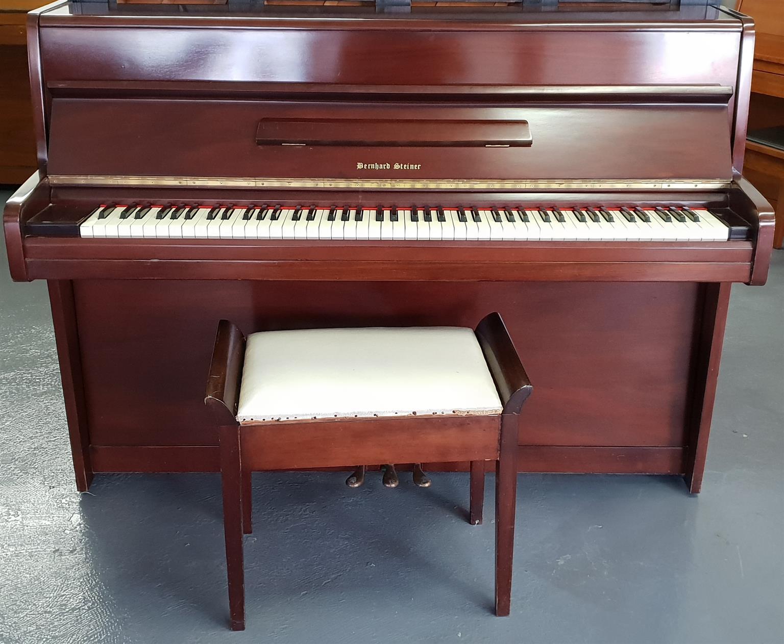 Bernhard Steiner Upright Piano 1970's
