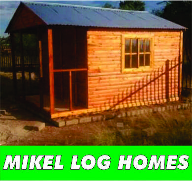 Mikel log homes - special offer on 6x6m