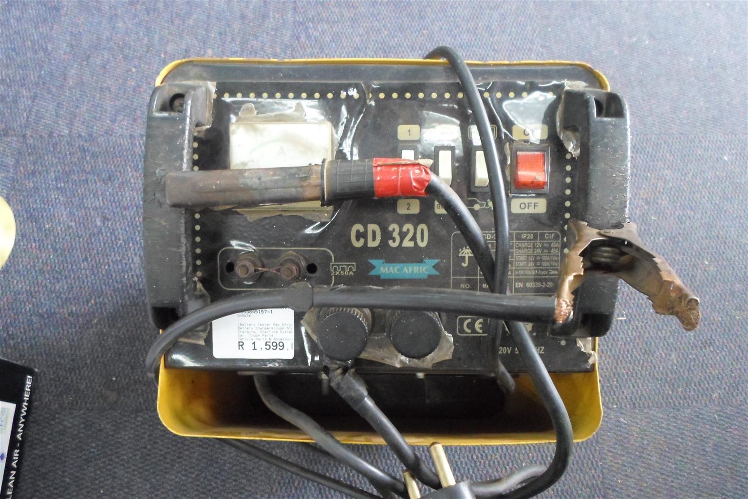Mac Afric CD320 Battery Tester
