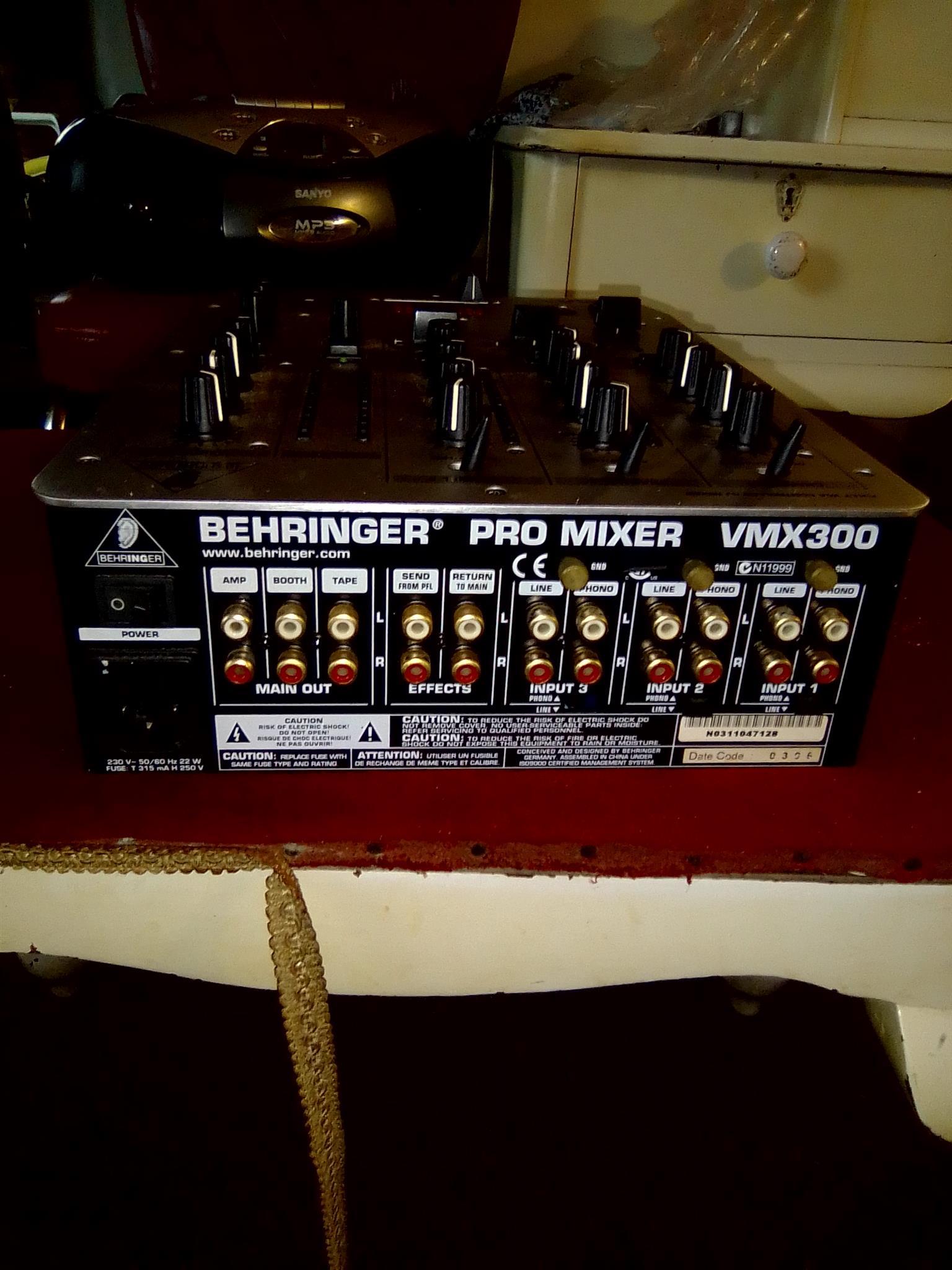 Pro mixer vmx300