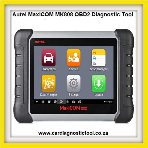 Diagnsotic:  Autel MaxiCOM MK808 OBD2 Diagnostic Tool 7-inch LCD Touch with All System &Service Functions of EPB/IMMO/DPF/SAS/TMPS Etc.
