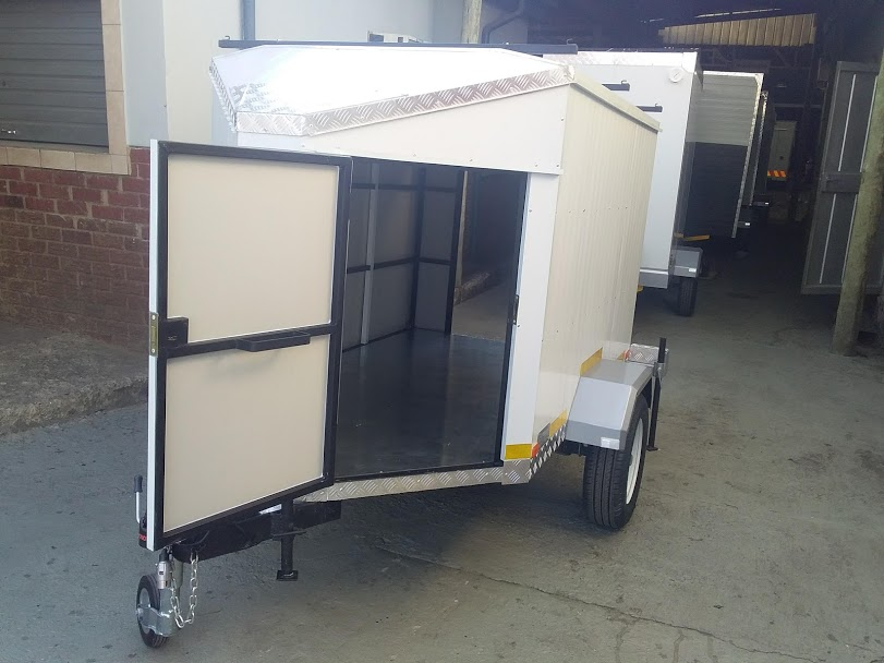 Closed Luggage Trailer for sale
