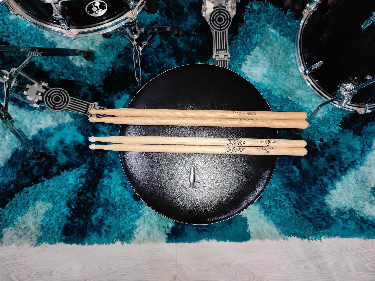 Sonar Force 1007 Drumkit (Black)