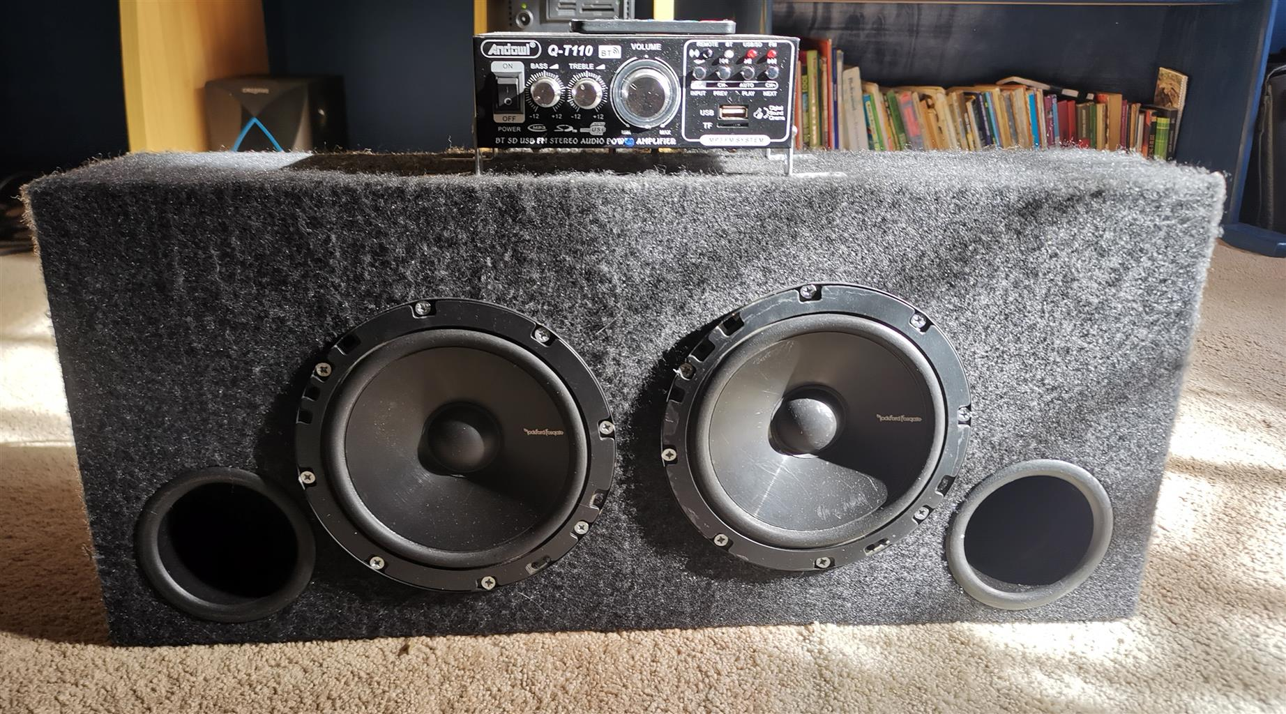 2 Subwoofers with Amplifier.