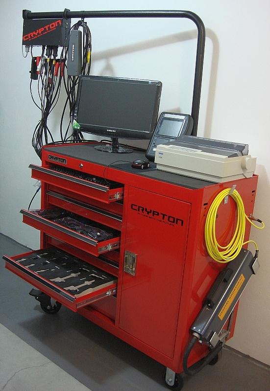 Automotive Diagnostic Test Station