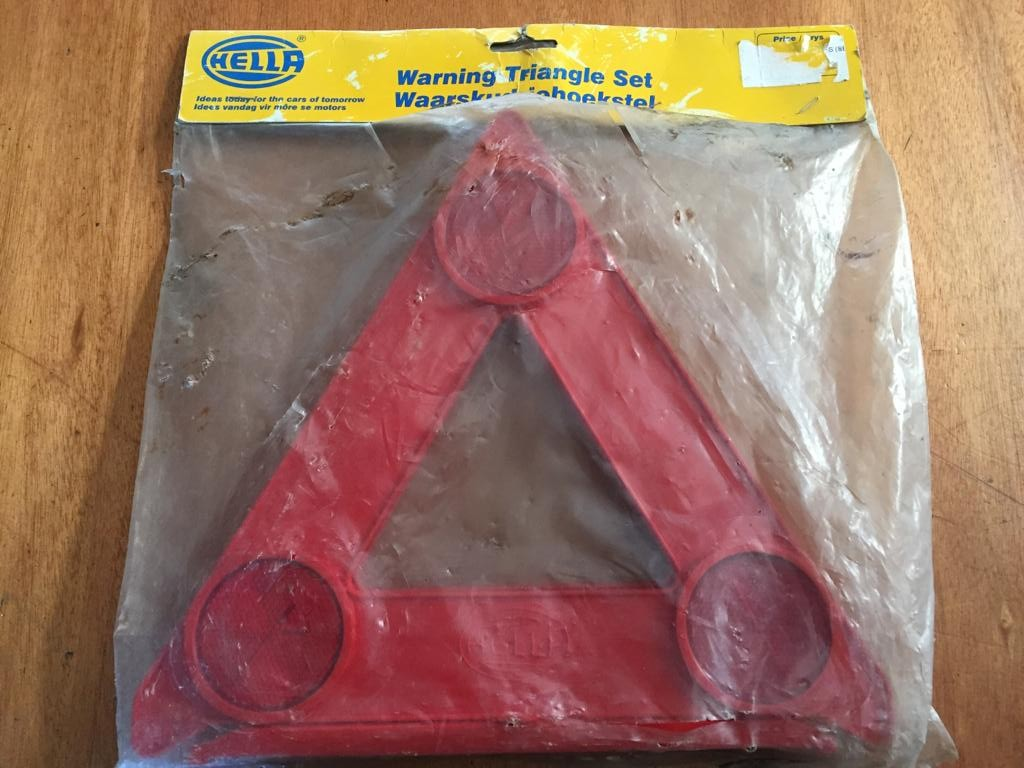 Car Accessories Warning Triangles