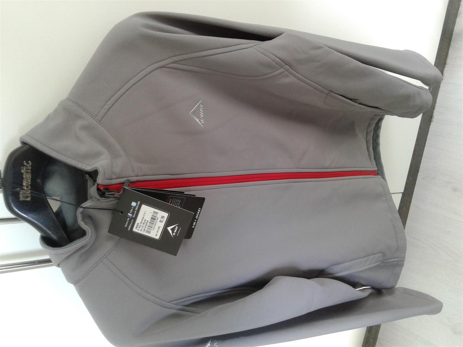 Ski Jacket, 3 in one- new