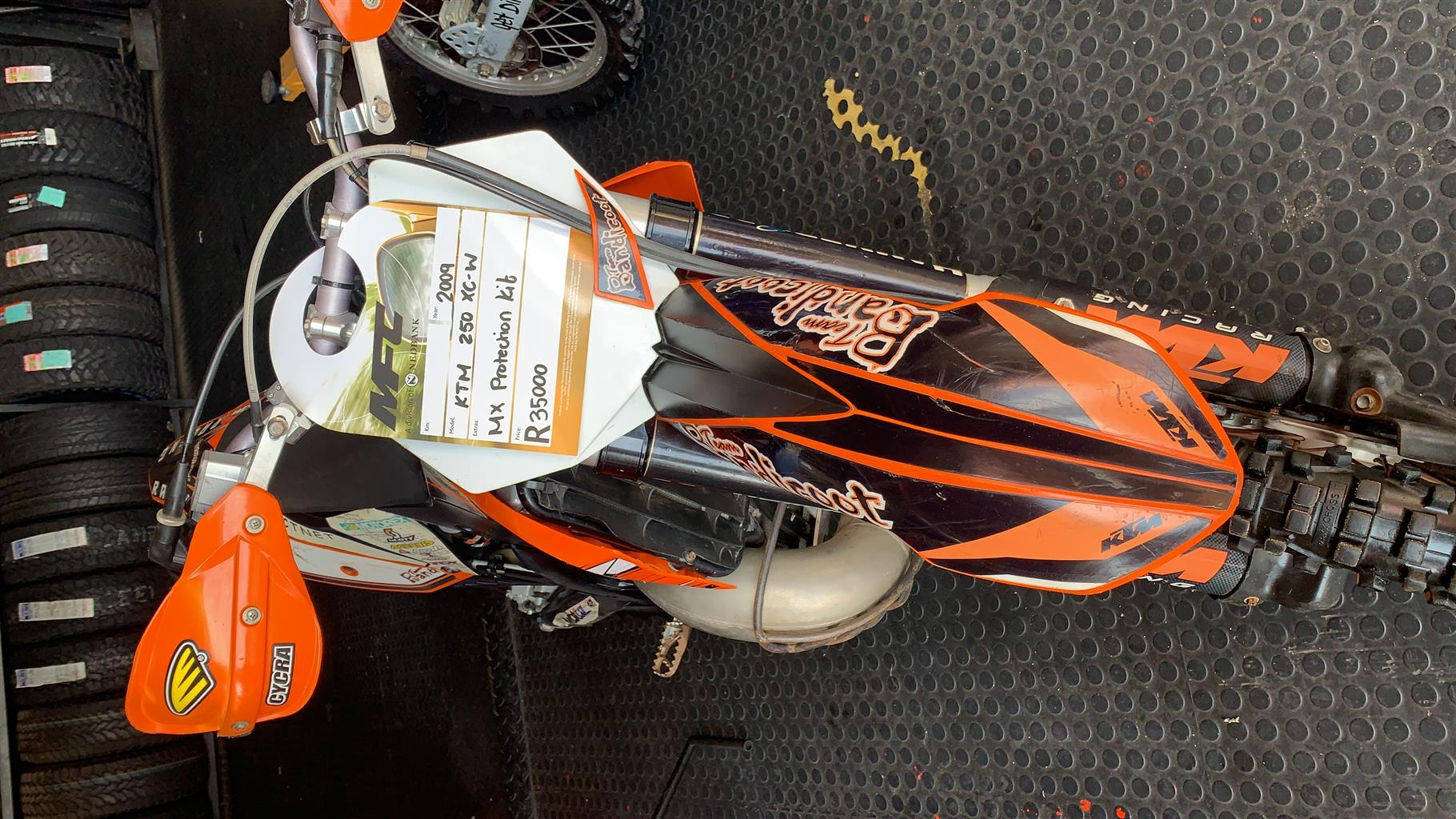 2009 KTM 250 XFN