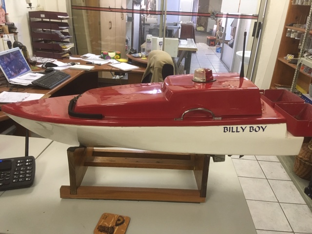 Billy Boy Bait boat