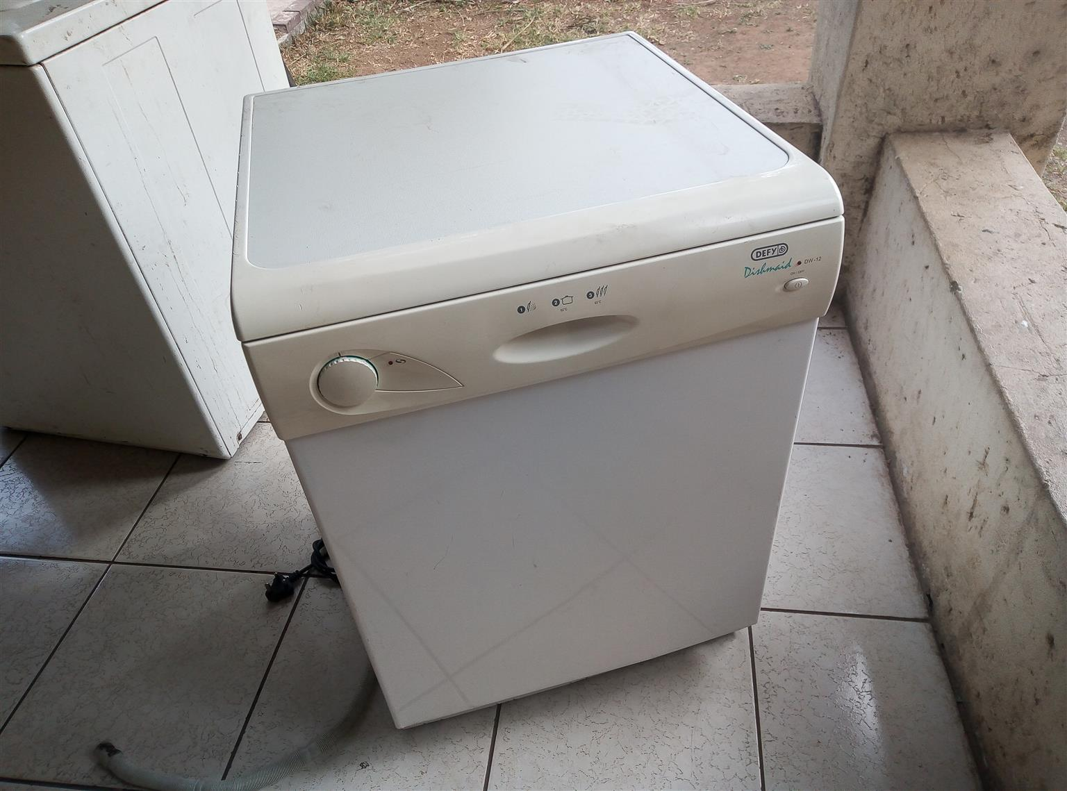 BED, FRIDGE, DISH WASHER FOR SALE IN GOOD CONDITION 0743444607
