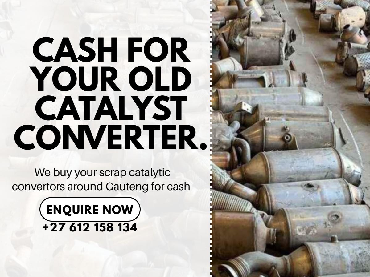 Now buying catalyst converters