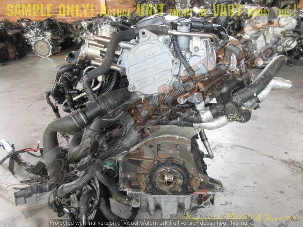 AUDI A3 -AXX 2.0 TFSI 16V Engine