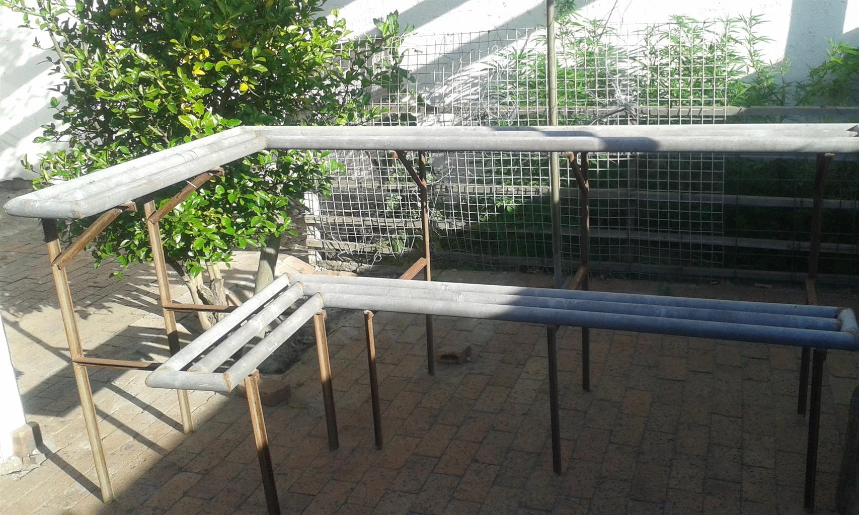 Plant stand and clothing rail for sale
