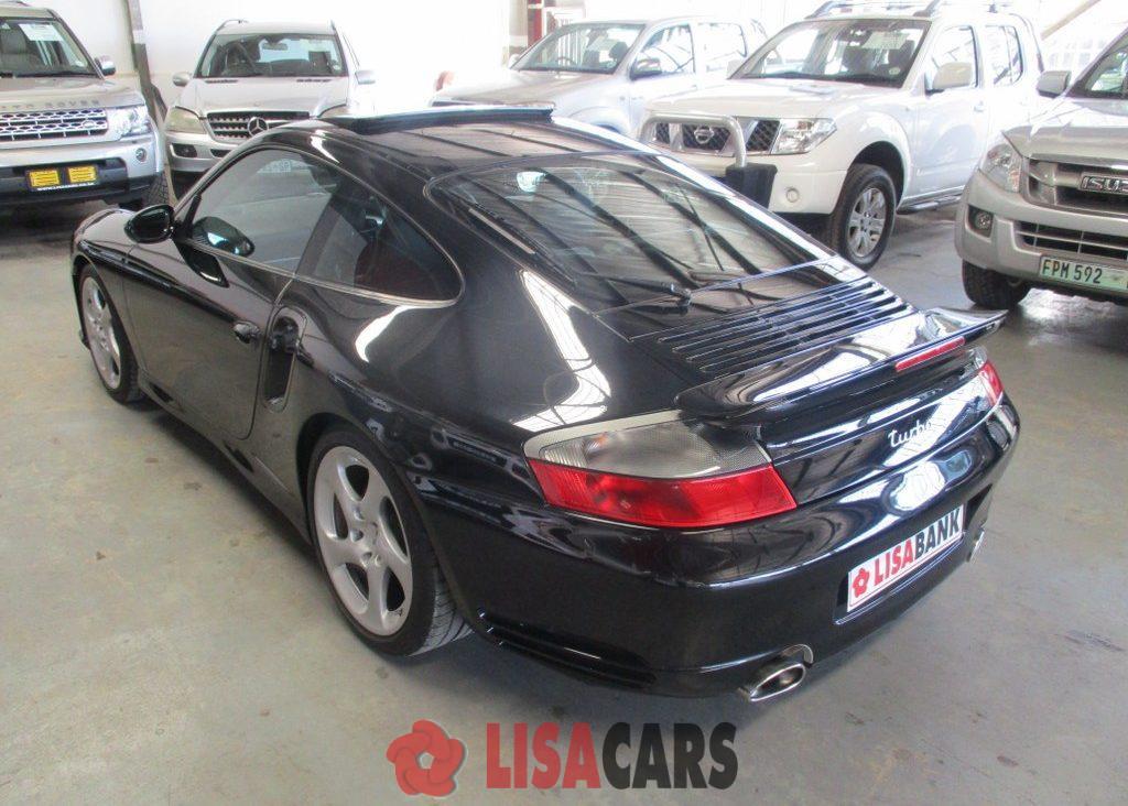 2001 Porsche 911 turbo cabriolet tiptronic