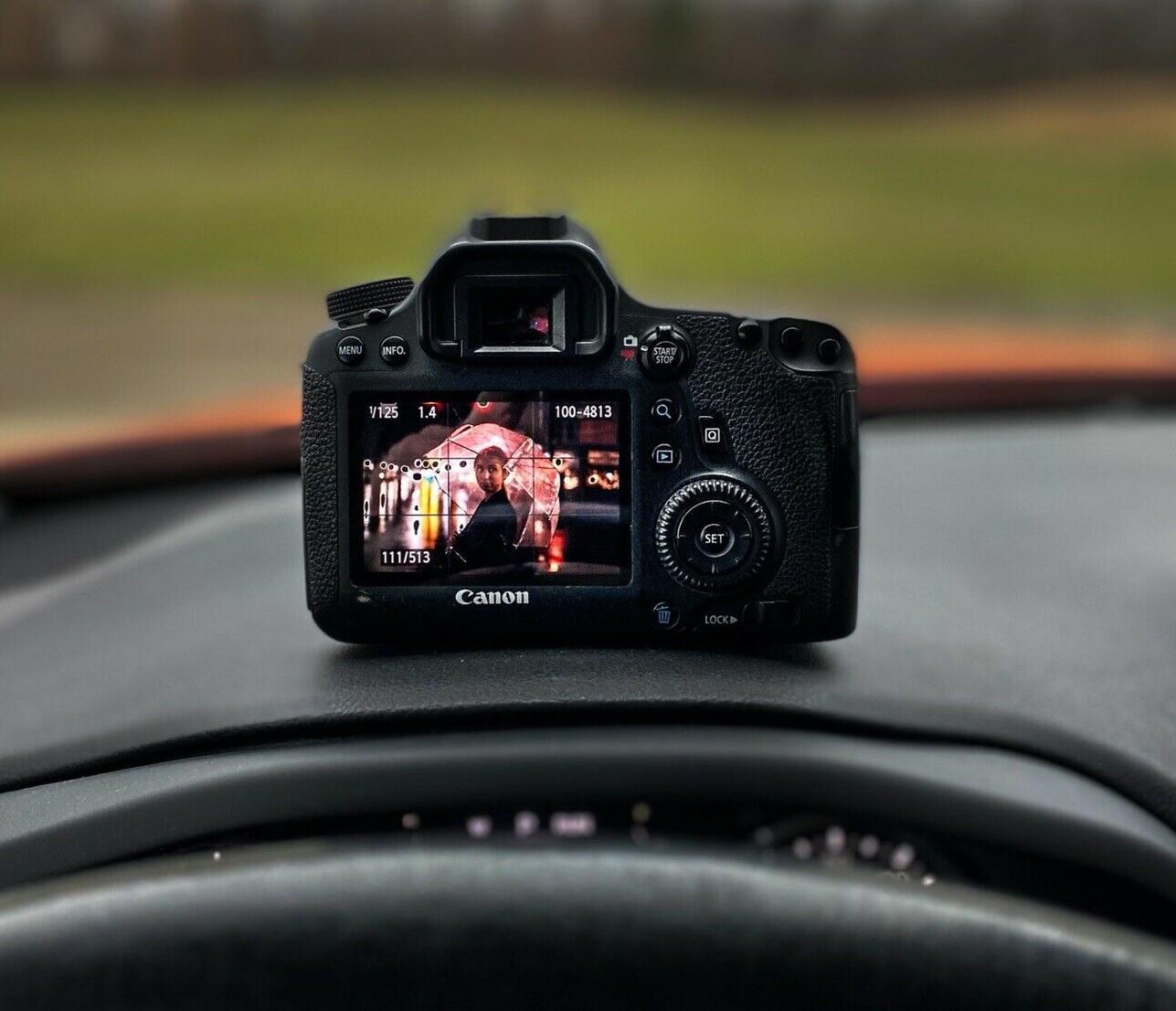 Canon EOS 6D 20.2MP Digital SLR Camera - Black (Body Only)..