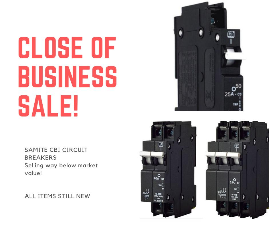 CBI Samite Circuit Breakers For Sale