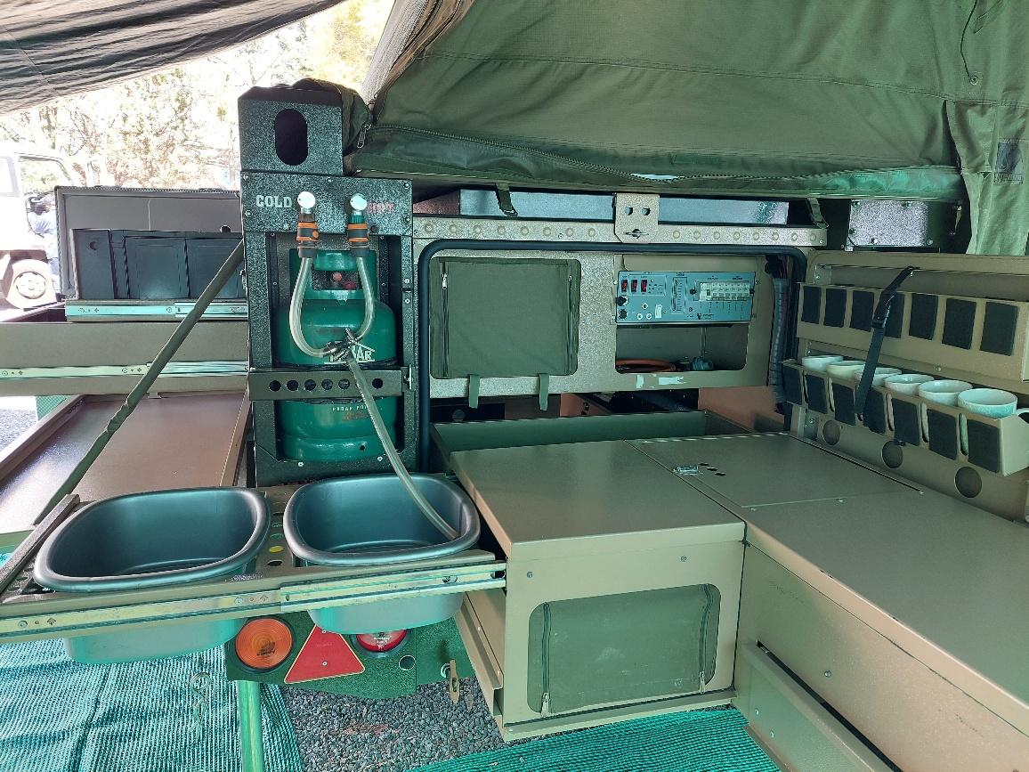 Off-road Conqueror Comfort 2013, in excellent condition.