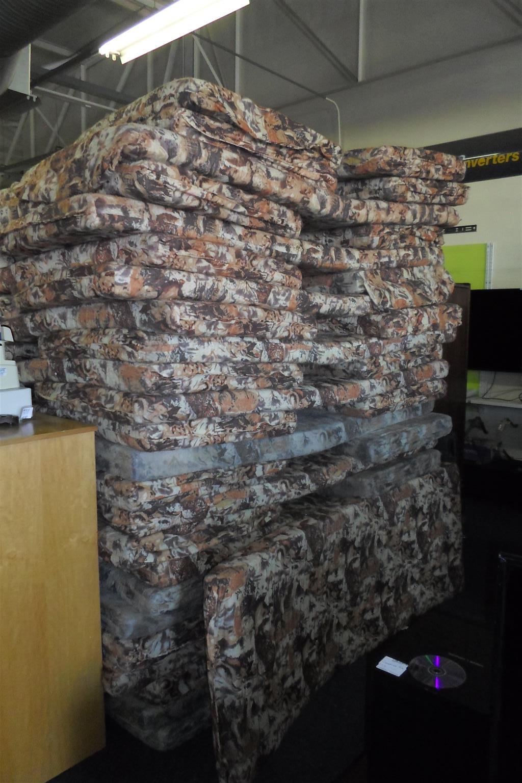 50x Covered Sponge Mattresses