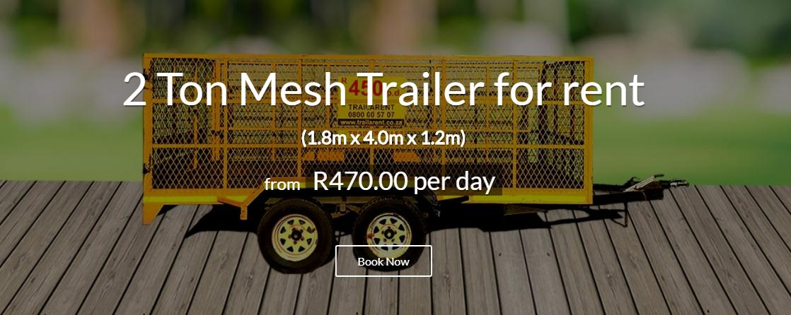TRAILERS TO RENT