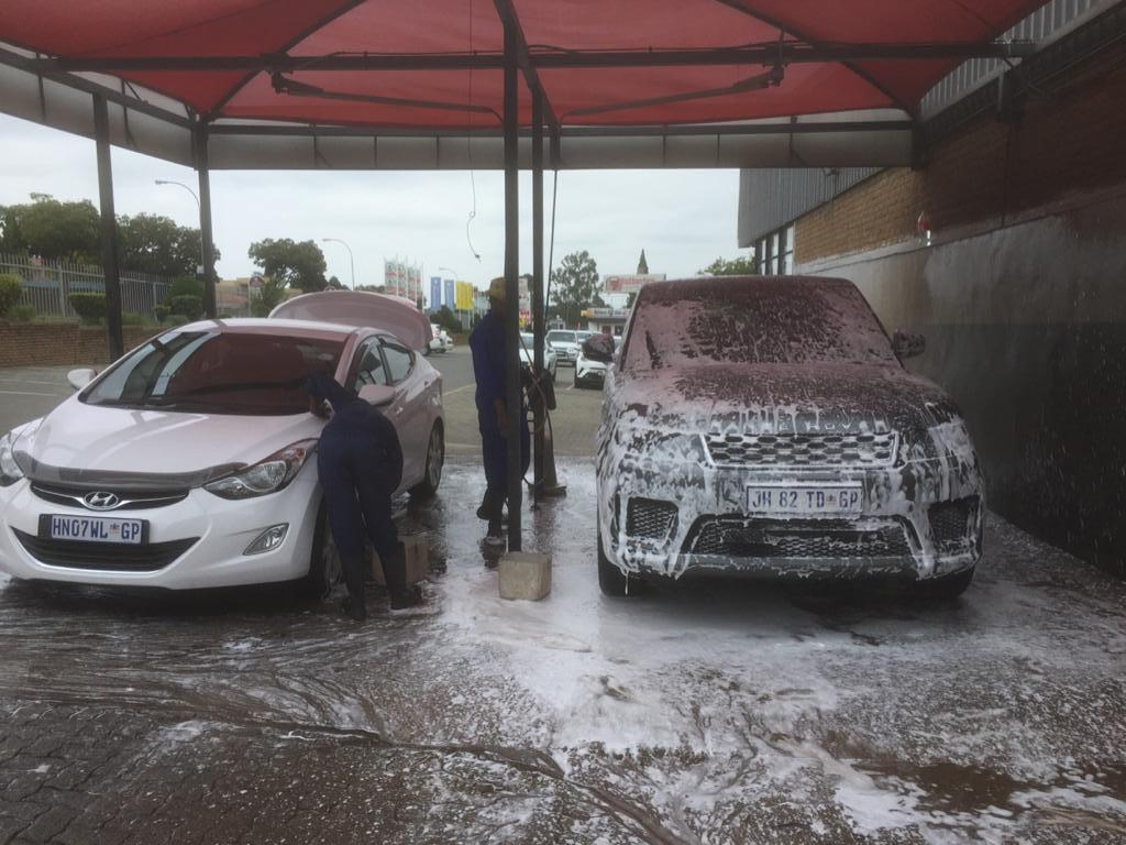 Established Car Wash for Sale in busy JHB South Shopping Centre