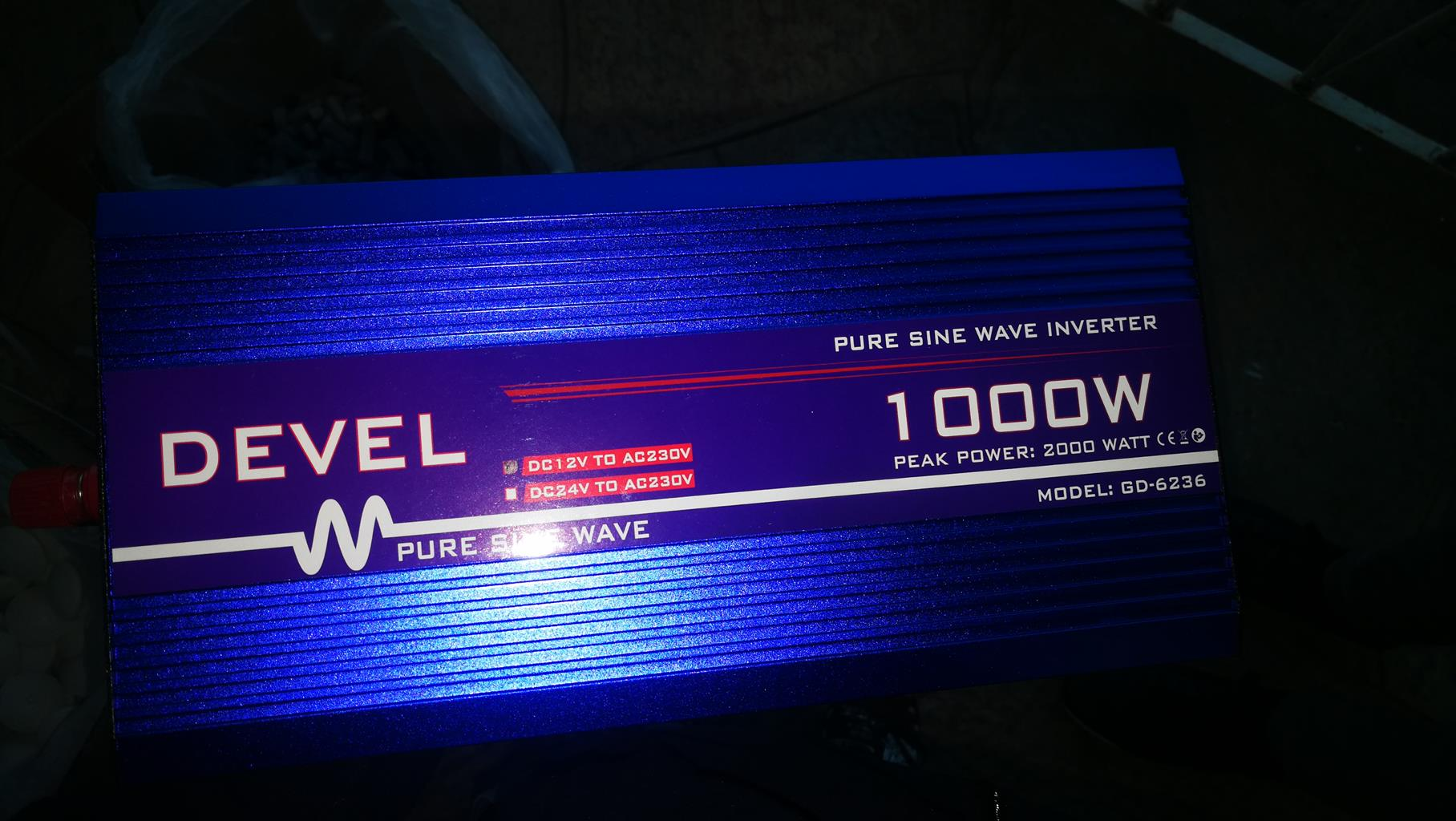 Devel Inverter (1000W) For Sale