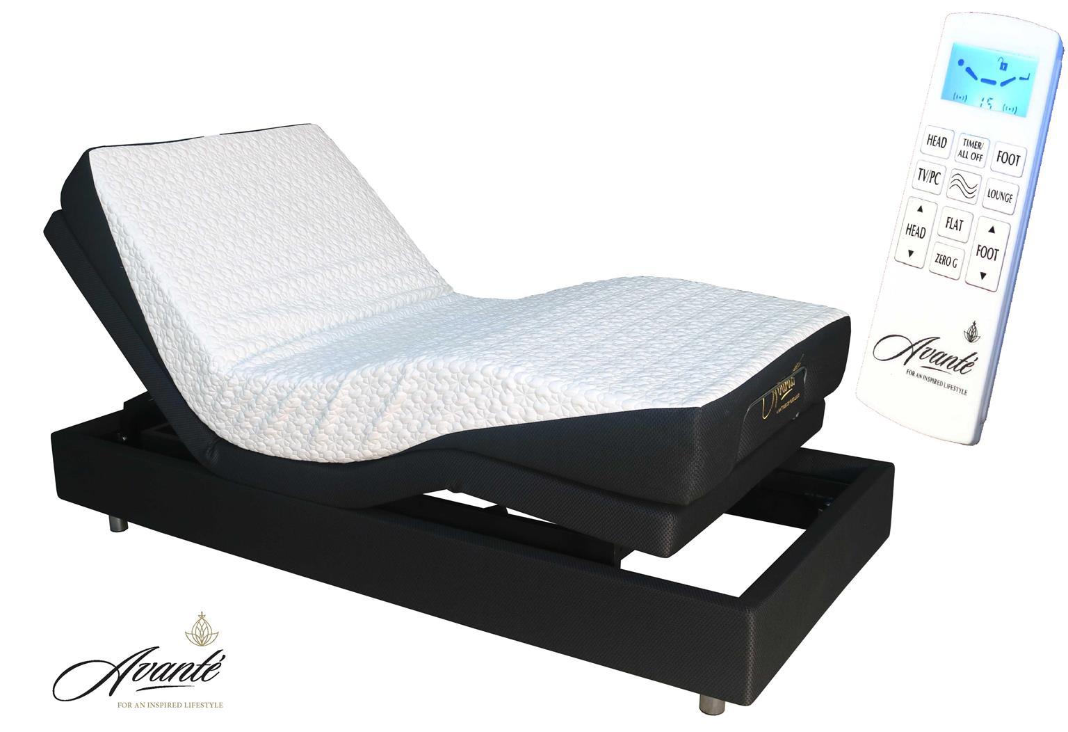 Electric Adjustable Bed - SmartFlex V2 with massage function. FREE DELIVERY