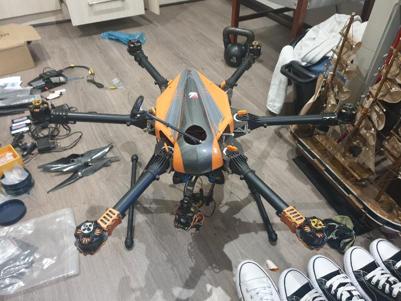 Hexacopter DIY Drone & Parts
