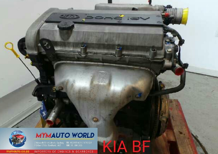 Imported used KIA SHUMA 1.5 DOHC 16V BF engine Complete