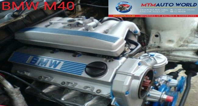 IMPORTED USED BMW E30 SOHC 4 CYL TIMING BELT M40 ENGINE FOR SALE AT MYM AUTOWORLD