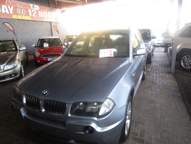 2007 BMW X3 sDRIVE 2.0 (G01)