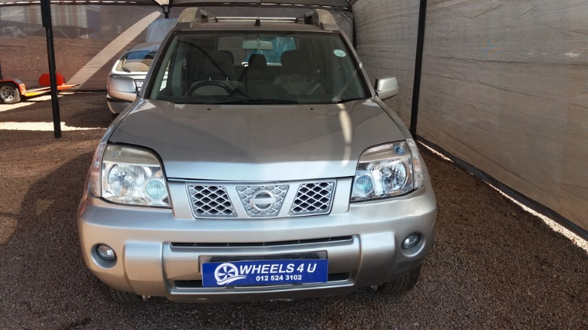 2004 Nissan X-Trail 2.5 4x4 SE