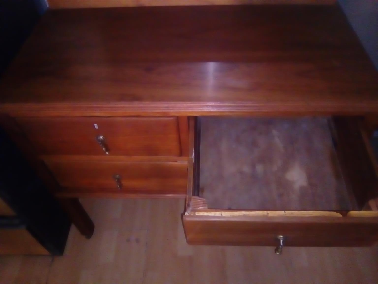 Burmese teak dressing table for sale