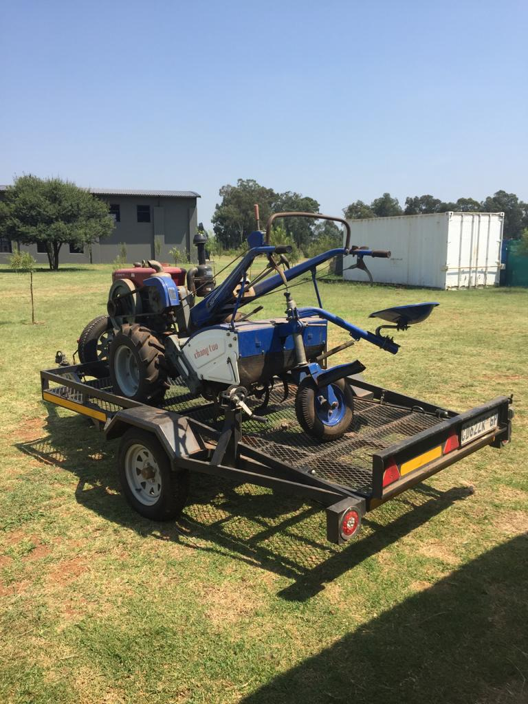 Excellent condition ride-on plough for sale!!!