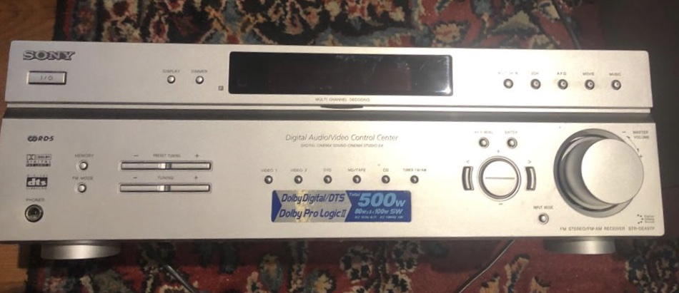 Sony Music system and dvd player