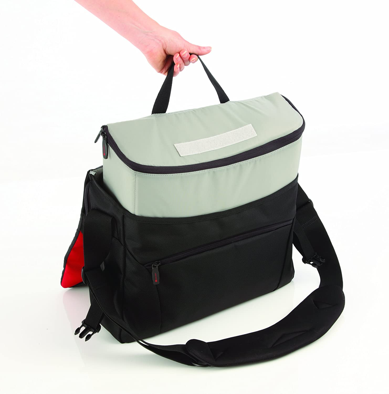 Delsey Proroad 17inch Shoulder Bag for Camera/Laptop-2-in-1 bag