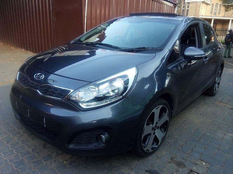 2012 Kia Rio hatch 1.4 Tec