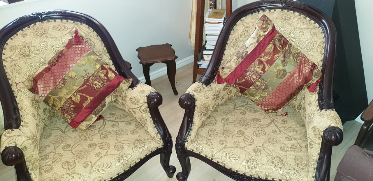 Antique Victorian Lounge Chairs