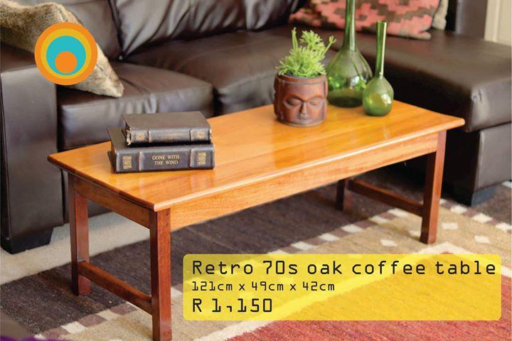 Retro Oak Coffee Table