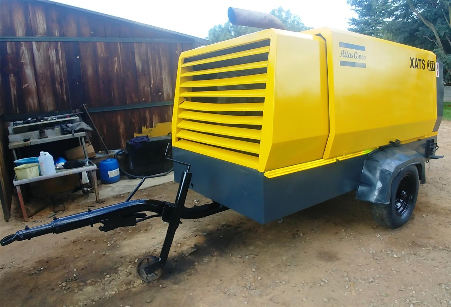 Mobile Air Compressor >> Atlas Copco 770cfm 10 Bar Mobile Air Compressor Xats377 Junk Mail