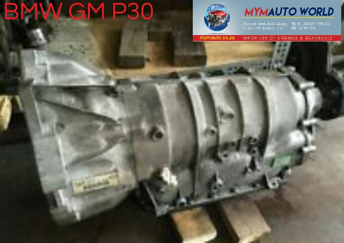 Imported used BMW GM P30, Complete second hand used gearboxes