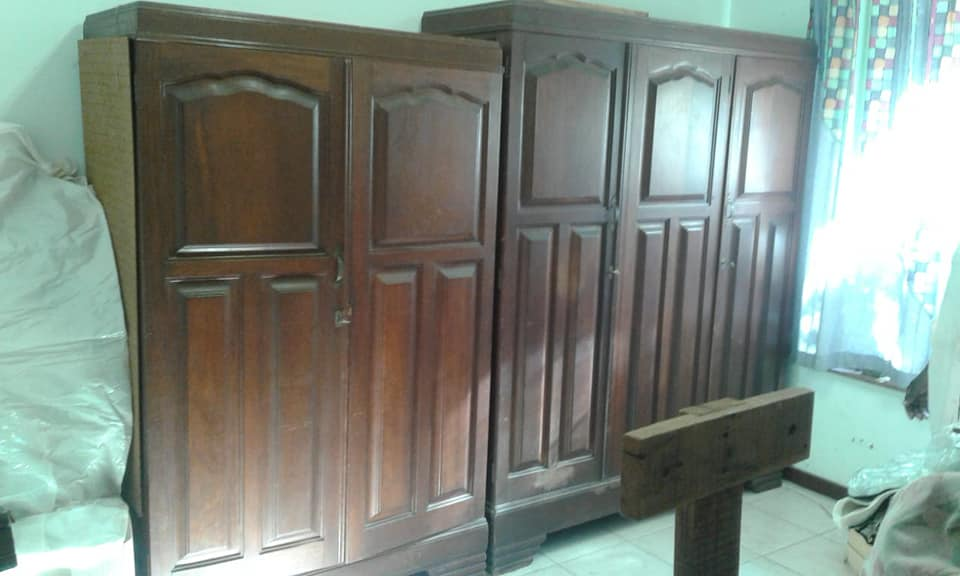 2 Vintage cupboards for sale