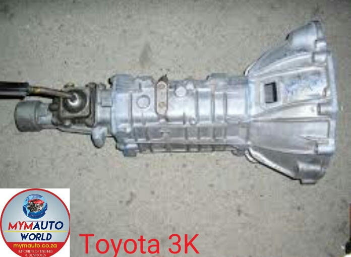 Imported used TOYOTA 3K FLOOR gearbox Complete