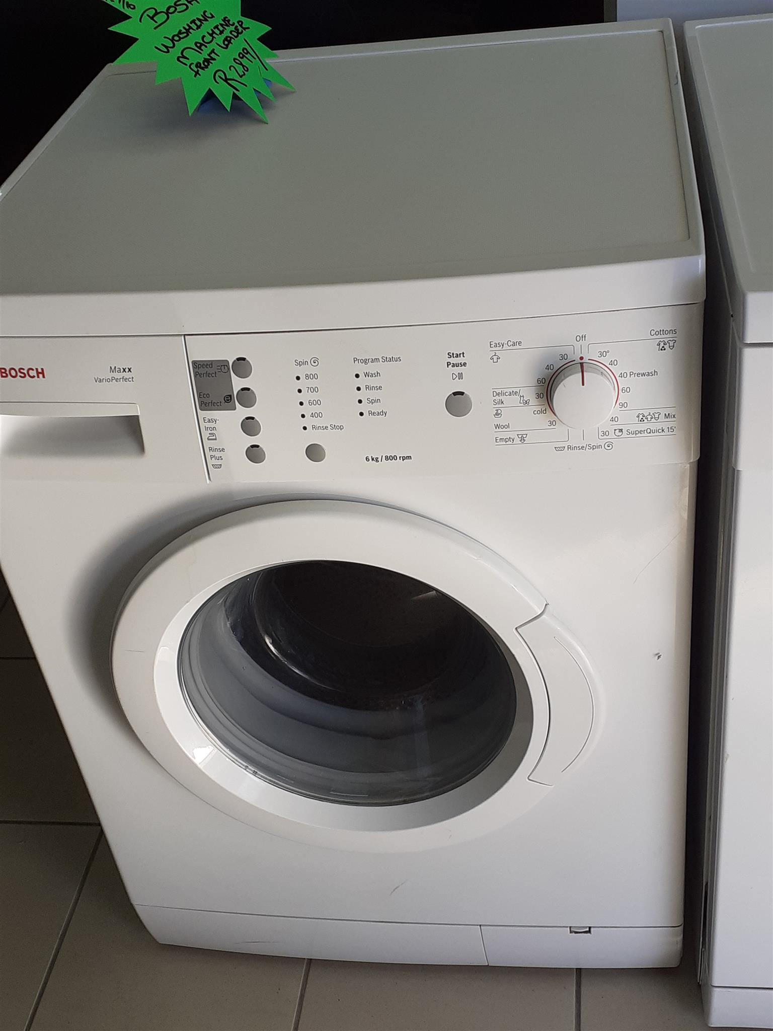Bosch Washing machine 6kg.
