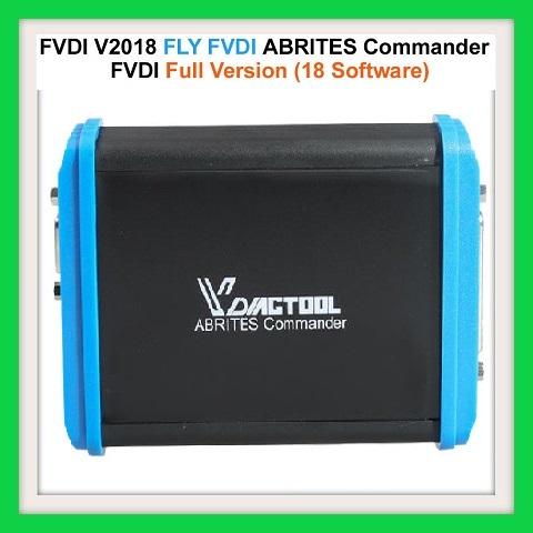 Newest FVDI V2018 Original FLY FVDI ABRITES Commander Full Version (18  Software) No Time Limited